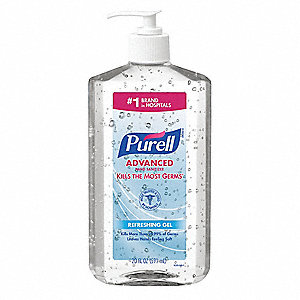 20 oz. Hand Sanitizer Pump Bottle, None, 1 EA