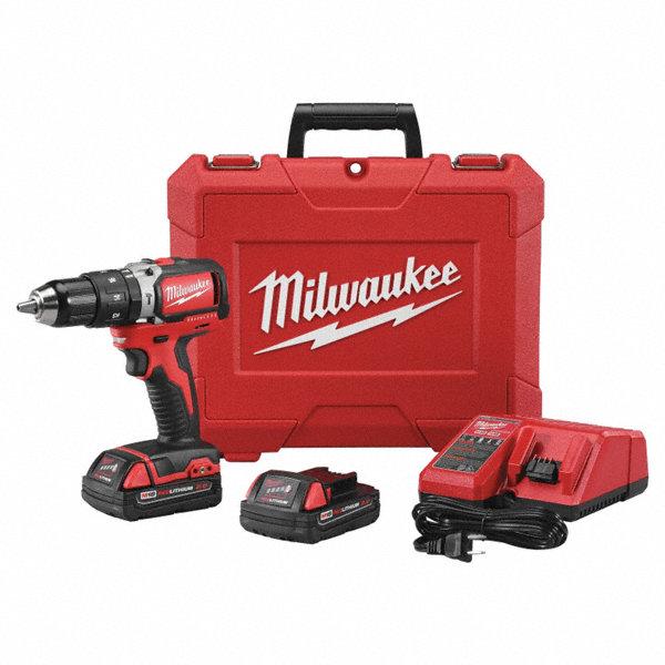 Milwaukee 1 2 Cordless Hammer Drill Driver Kit 18 0