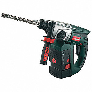 Cordless Rotary Hammer Drill Kit, 25.2 Voltage, 0 to 4700 Blows per Minute, Battery Included