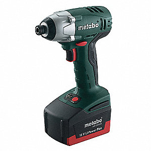 "1/4"" Cordless Impact Driver Kit, 18.0 Voltage, 1406 ft.-lb. Max. Torque, Battery Included"