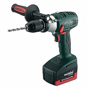 "1/2"" Cordless Hammer Drill Kit, 18.0 Voltage, Battery Included"