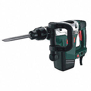 SDS Max Demolition Hammer, SDS Max, 14.0 Amps @ 120V, 0 to 2840 Blows per Minute