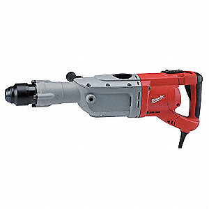 SDS Max Rotary Hammer Kit, 15.0 Amps, 975 to 1950 Blows per Minute, 120 Voltage