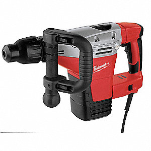 Demolition Hammer, 14 Amps @ 120V, 2200/2840 Blows per Minute