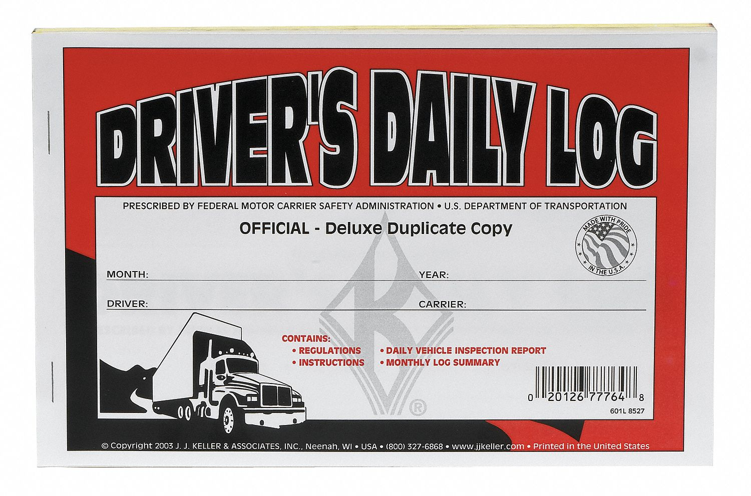 Driver Log Books