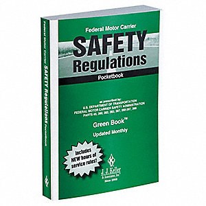 DOT Regulations Pocketbook,Safety