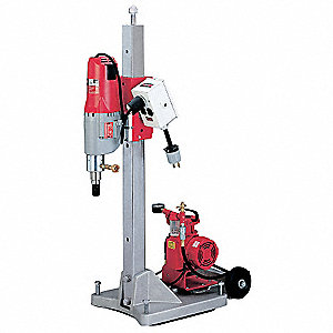 Diamond Coring Rig, 20 Amps @ 120V, 4.8 Motor HP, 450/900 No Load RPM