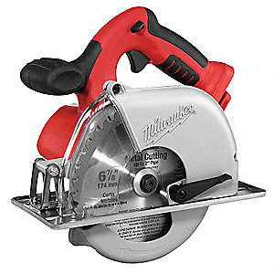 "6-7/8"" Cordless Circular Saw, 28.0 Voltage, 3200 No Load RPM, Bare Tool"