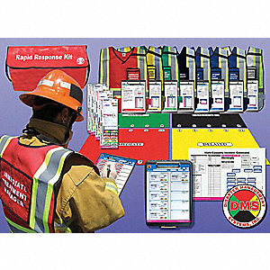 Rapid Response Kit,8 Vests