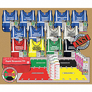 Rapid Response Kit,13 Vests