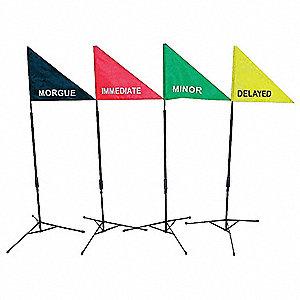 TREATMENT AREA FLAG KIT,12 PCS