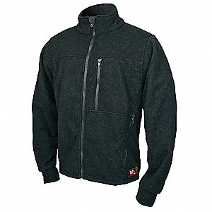 Flame Resistant Jacket,HRC2,Black,XS