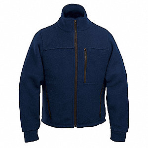 Flame Resistant Jacket,HRC2,Navy,ST