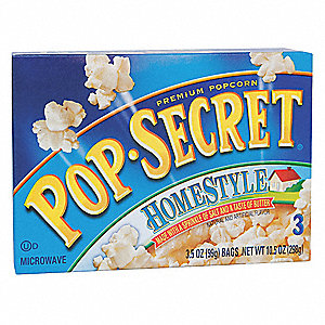 3.5 oz. Homestyle Pop Secret® Microwave Popcorn; PK3
