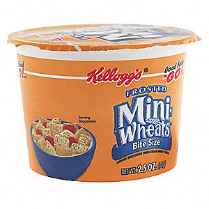 2.5 oz. Frosted Mini Wheats® Good Food to Go!™ Breakfast Cereal; PK6