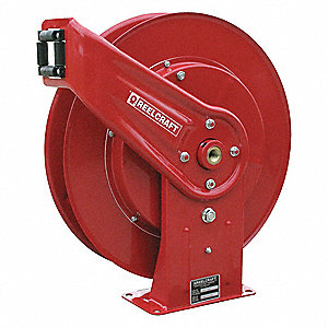 "Hose Reel,1/2"" ID,50 ft,500 psi"