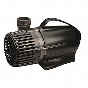 ABS 9/64 HP Waterfall Pump, Submersible, 120VAC Voltage