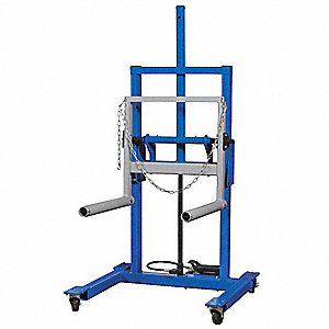Dual Wheel Dolly,High Lift,47-41/64 in L