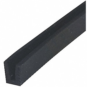 Edging,SBR,B,3/32x 21/64 In,100 Ft L,Blk