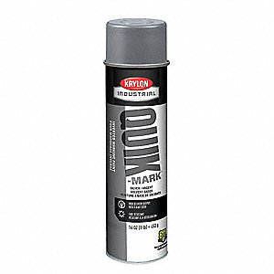 Solvent-Base Marking Paint, Fluorescent Red/Orange, 20 oz.