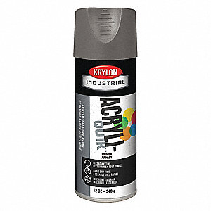 Spray Paint Primer,Gray,12 oz.,15 min.