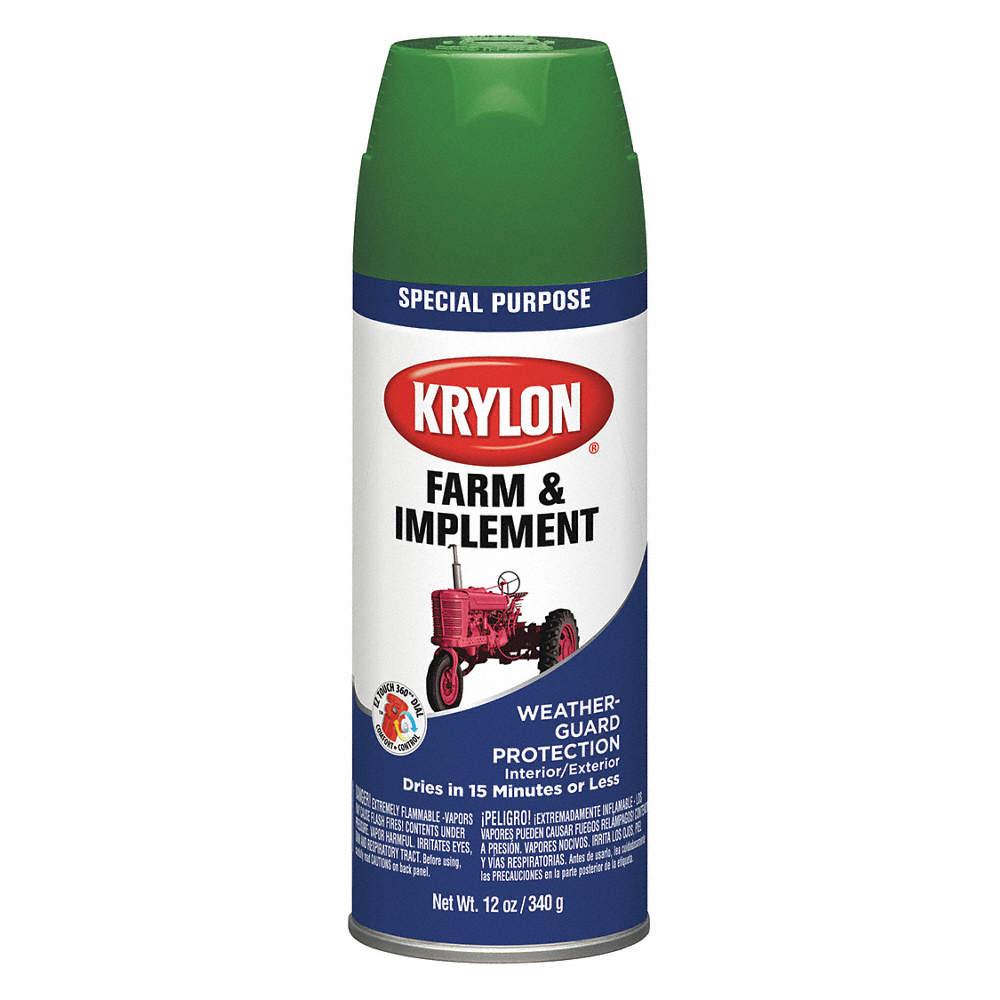 Krylon Farm And Implement Spray Paint In High Gloss School