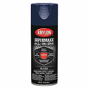 Super MAXX Rust Preventative Spray Paint in Gloss Regal Blue for Ceramic, Glass, Metal, Plaster, Pla