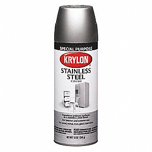 Tough Coat Spray Paint in Stainless Steel Stainless Steel for Glass, Iron, Metal, Wood, 11 oz.