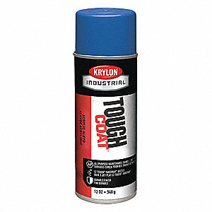 Tough Coat Rust Preventative Spray Paint in Gloss Ford Blue for Metal, Steel, 12 oz.