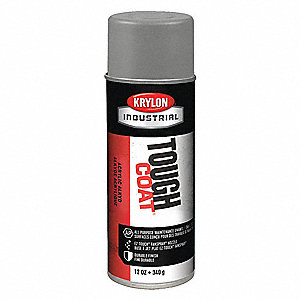 Tough Coat Rust Preventative Spray Paint in Gloss Machinery Blue/Gray for Metal, Steel, 12 oz.
