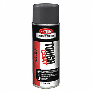 Tough Coat Rust Preventative Spray Paint in Gloss Dark Machinery Gray for Metal, Steel, 12 oz.