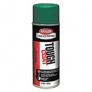 Tough Coat Rust Preventative Spray Paint in Gloss Machine Green for Metal, Steel, 12 oz.