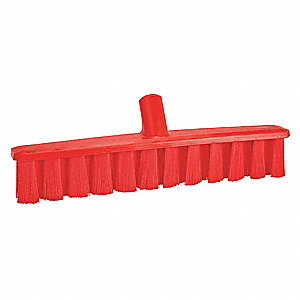 "Synthetic Broom Head, 15-1/4"" Sweep Face"