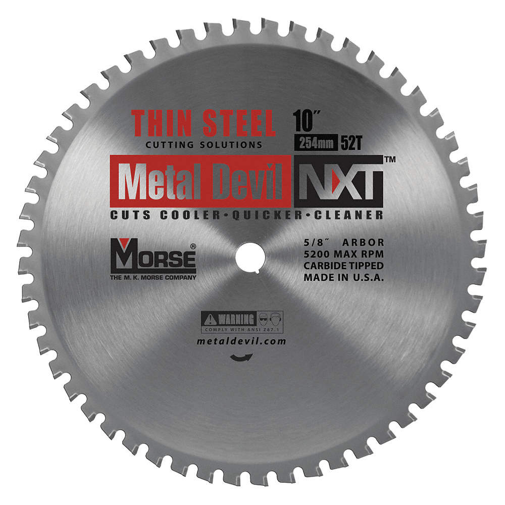 Morse 10 carbide metal cutting circular saw blade number of teeth zoom outreset put photo at full zoom then double click greentooth Gallery