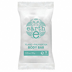 Earth  E Facial Bar Soap, Jasmine and Ylang Fragrance, 0.88 oz., 250 PK