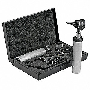 Opthalmoscope/Otoscope Kit,Hard Case