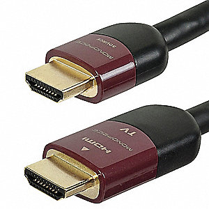 50 ft. High Speed HDMI Cable, Black; For Use With Home Theater and Audio-Visual Equipment
