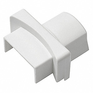 ABS Round Base Adapter For Use With 500 and 4000 Raceways, White