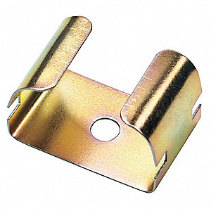 Steel Pipe Clip For Use With LDPH Raceway, Brown