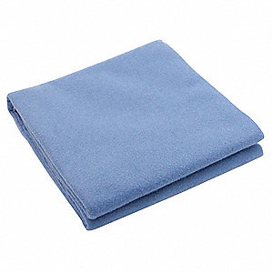 Emergency Blanket, Blue, 50In x 84In, PK10