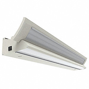 "53-1/8"" x 6-7/8"" x 6-3/8"" Over the Patient Bed Light for F32T8 Lamp Type"
