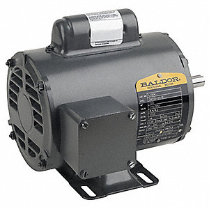 1/2 HP General Purpose Motor,Capacitor-Start,3450 Nameplate RPM,Voltage 115/230,Frame 56C