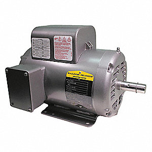 2 HP General Purpose Motor,Capacitor-Start,3450 Nameplate RPM,Voltage 115/230,Frame 145T