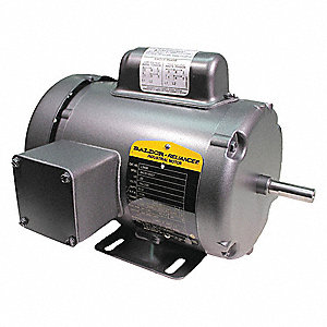 1/3 HP General Purpose Motor,Capacitor-Start,1725 Nameplate RPM,Voltage 115/230,Frame 48