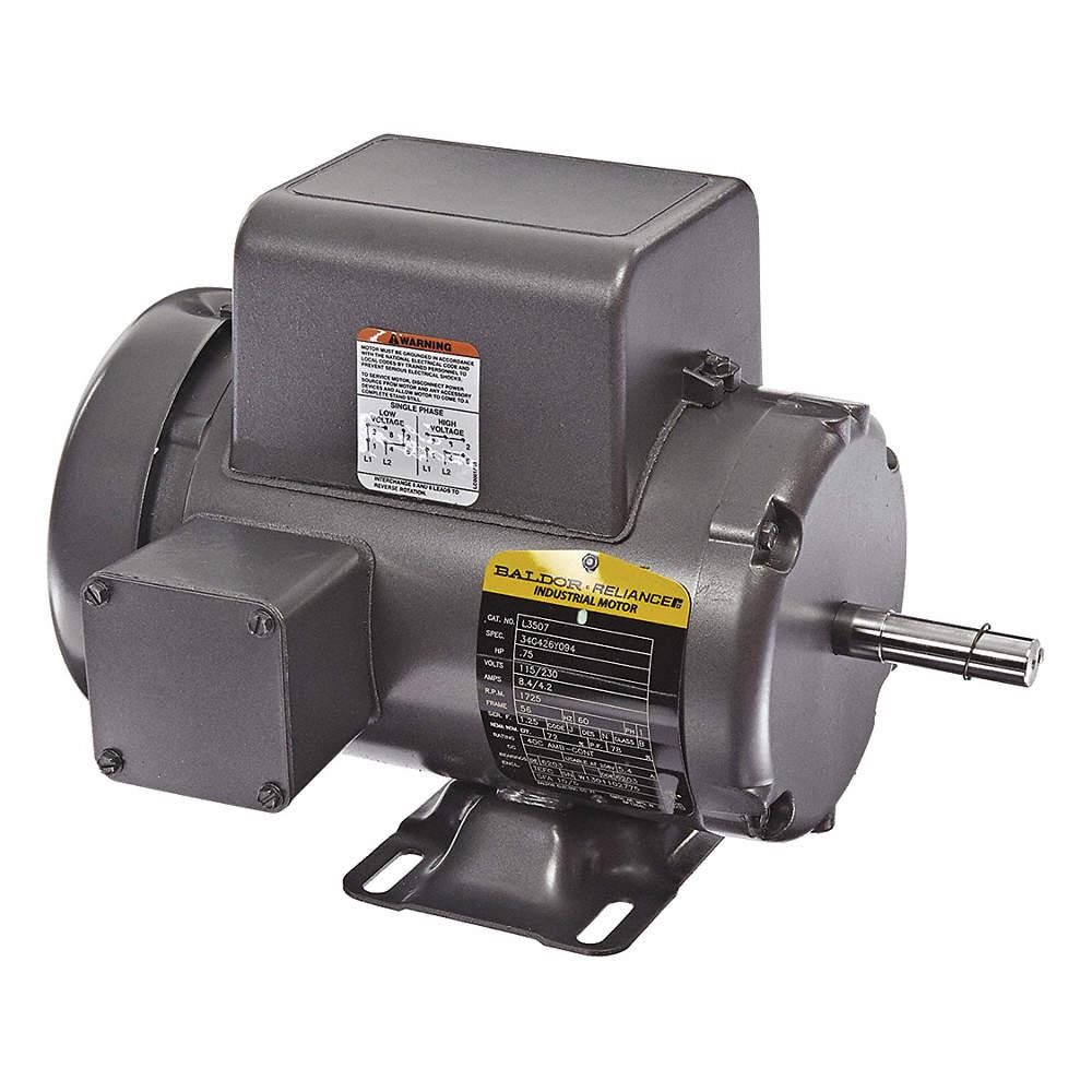baldor electric motor 5 capacitor wiring 3 capacitor 5 hp baldor electric 3 4 hp general purpose motor capacitor start run  baldor electric 3 4 hp general purpose