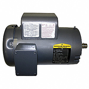 3 HP General Purpose Motor,Capacitor-Start,1725 Nameplate RPM,Voltage 115/230,Frame 184TC