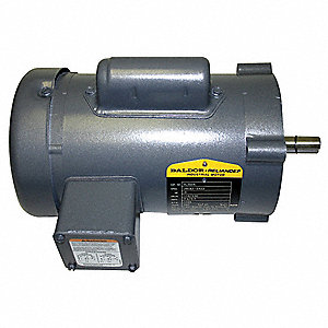1/2 HP General Purpose Motor,Capacitor-Start,1725 Nameplate RPM,Voltage 115/230,Frame 56C