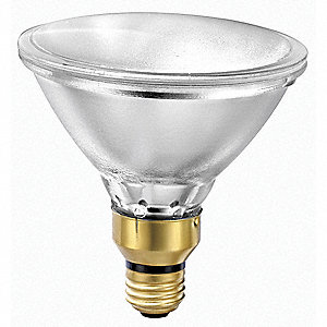 53 Watts Halogen Lamp, PAR38, Medium Skirted (E26), 1130 Lumens, 2900K Bulb Color Temp.