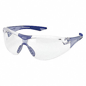 Anti-Fog Safety Glasses, Clear Lens Color