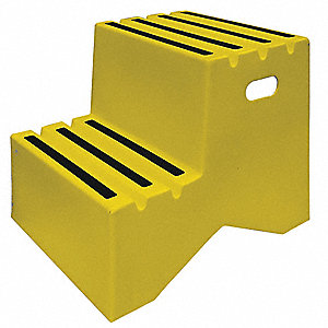 Dpi Plastic Box Step 19 1 2 Quot Overall Height 500 Lb Load